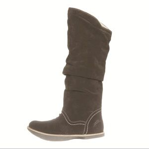 Earth Swank Suede Slouch Boots